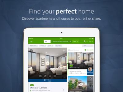 Domain Universal iOS App product design mobile app ios ipad app