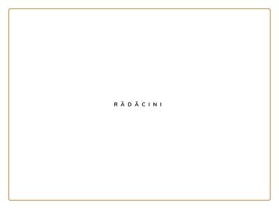 Radacini BBSO Baia Mare (Roots) - Visual Branding - Logo web event branding logos minimal blackandwhite black  white rock yellowstone black yellow green gold community roots tree colorful fonts concept logo event