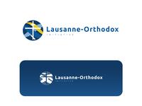 Lausanne-ortodox intiative logo design