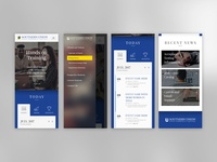 UI Mobile Design - Southern Union