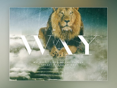 Bible Verse - Lion Way