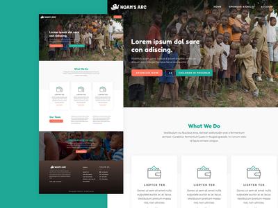 Noah's Arc Website Design