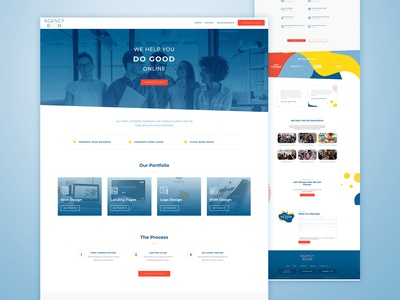 Agency Boon Homepage Design