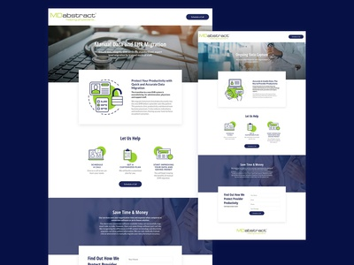 Landing Page Service Design