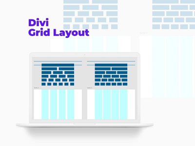 Layout Grid for Divi WP Theme elegant theme elegant layout design system gridsystem layout grids grid shape user inteface user experience user interface ux uiux ui dailyui design divi theme theme