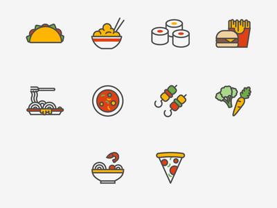 International food | Icons