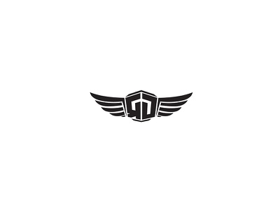 Redynasty Logo Design luxury fashion clothing branding brand logo design wings monogram logo letter logo rd