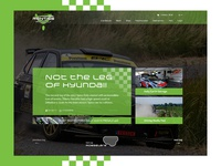 Rally homepage.