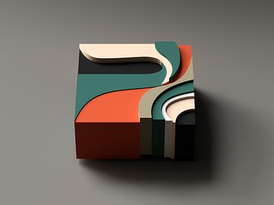 Moar blocks simple 3d minimal blocks c4d cinema4d colors
