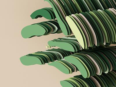 Visual workout 🍏 illustration redshift minimal composition 3d cinema4d green