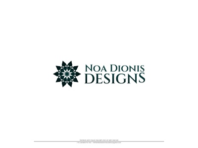 Noa Dionis Designs modern icon modern logo icon modern design modern logo design modern logos modernism modern modern logo logodesign icon typography design illustration branding vector company logo company brand logo logo noa dionis designs noa dionis designs