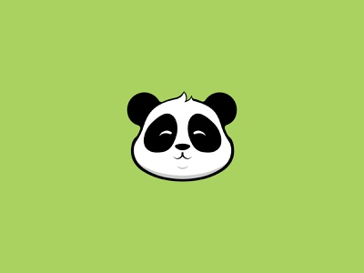Panda Face - Design panda pet design pet puppy pet app pet p pet panda pet design petstore pet care petshop petals pets pet panda bear icon vector illustration panda face face design panda logo panda