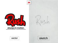 Dribbble Rush