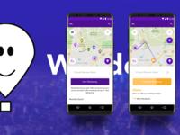 'Wander'- Mobile Application Design