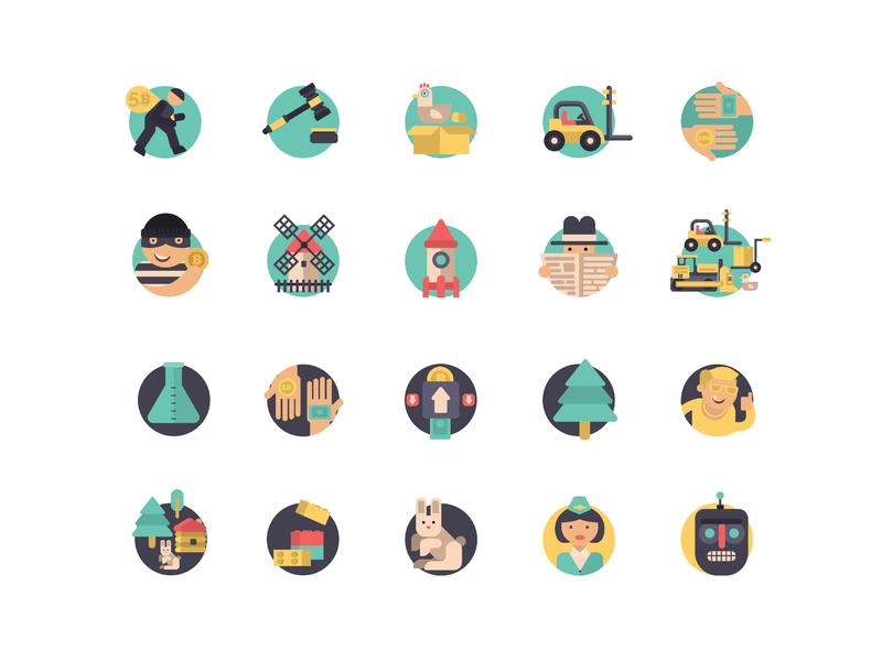 Icon Set №2