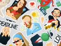 Stickers Legends Of Art