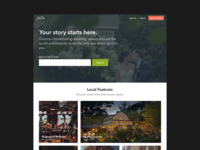 The Hitch v2.0 - Landing Page