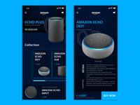 Amazon Echo Products #darkmode