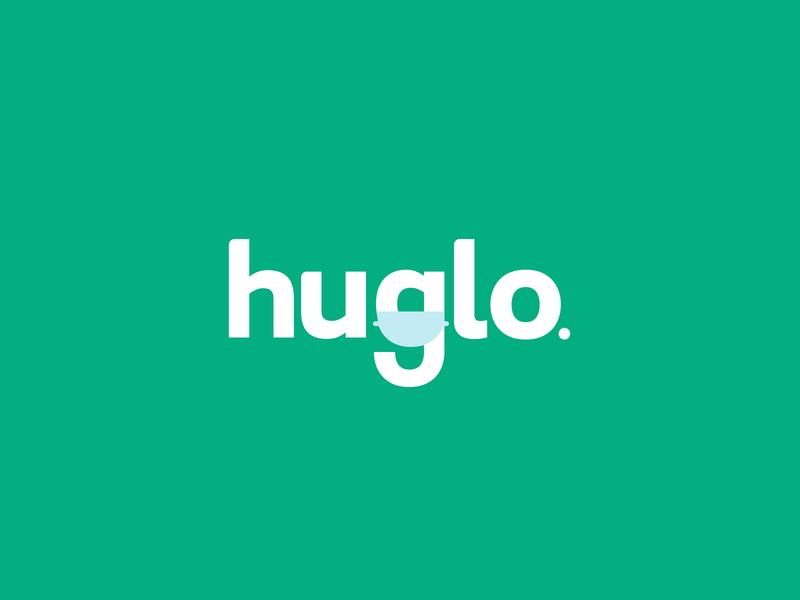 Huglo Logo Proposal #2 virus face mask masks logo design web typography branding logo color vector design
