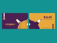 Dalek Business Card - Warm up #2