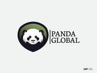 Daily Logo Challenge: Day 3 - Panda Logo