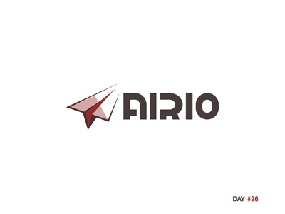 Daily Logo Challenge: Day 26 - Paper Airplane