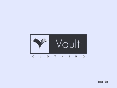 Daily Logo Challenge: Day 28 Hip Clothing Brand