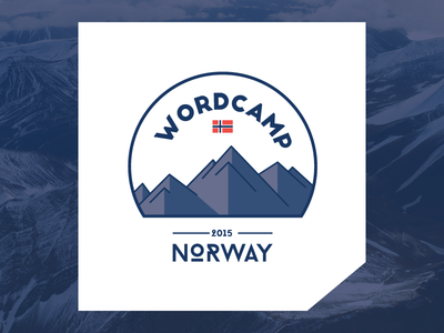 WordCamp Norway 2015 Logo wordpress logo wordcamp norway norge