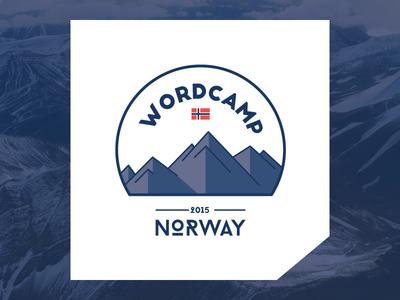WordCamp Norway 2015 Logo wordpress logo wordcamp norway norge