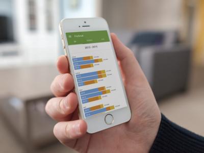 Lyse Energi — Energy Monitoring app — electric graph energy app