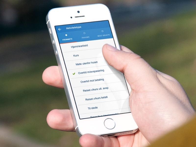 Direktoratet for økonomistyring — Mobile app for SAP — material design app sap