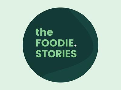 The Foodie.Stories foodie green logo