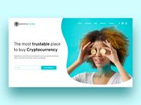 NegocieCoins - Landing Page