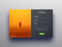 Letterboxd Sign Up - Daily UI #001