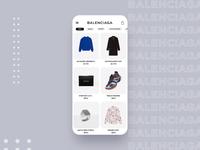 Balenciaga Animated App