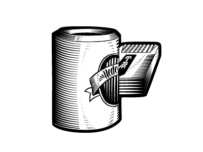 Hedonism linocut woodcut typography t-shirt illustration blackwhite bw