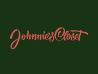 Johnnie's Closet Lettering