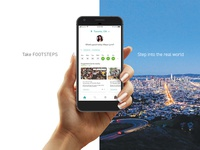 Footsteps — Marketing Visual Exploration