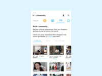 Wish Shopping — Community Feature