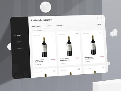 Making Wine Store App - Design Interaction animation design motion uiux interaction motion design