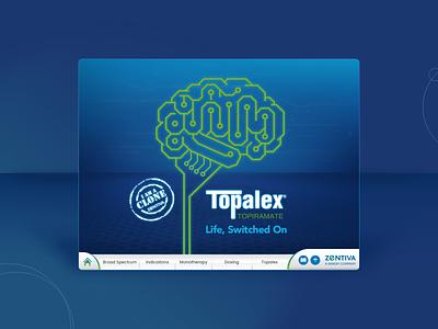 Topalex - Pharmacy Tablet E-Detailing ipad digital app design pharmacy animation ui design animation design concept ux ui