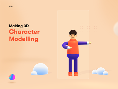 3D Character design spline modelling character character design 3d