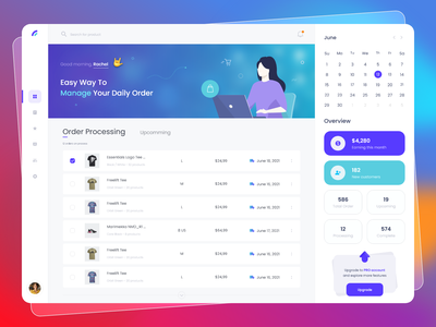 Web App - Order Management dashboard product design order management illustration web app design web app app design ui design ux ui