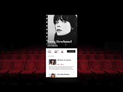 Daily UI #006 User Profile