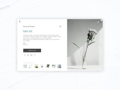 Daily UI #012 E-Commerce Shop (Single Item)