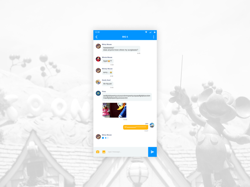 Daily UI #013 Direct Messaging message daily ui 013 direct message figma design ui figmadesign dailyui challenge