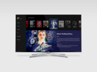 Daily UI  025 Tv App