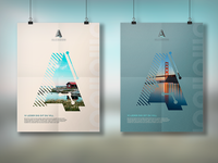 """A"" - brand posters"