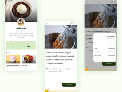 Dafa - Kitchen experiences that you'd love description food design details food and drink food app food cookbook kitchen app kitchens youtube kitchen cooking app cooking cook design mobile app landing page mobile app design dailyui