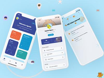 SC Learn ui mobile app design dailyui mobile app mobile ui mobile educational education app education learning platform learning app learn